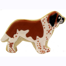 Cookie Cutter  St. Bernard Tin