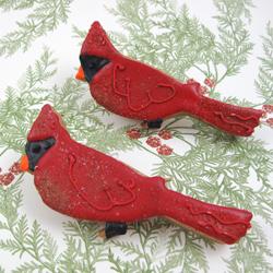 Red Cardinal Cookie Cutter