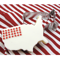 Cookie Cutter USA Map, 4