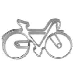 Cookie Cutter Bicycle Stainless Steel