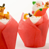 Santa & Reindeer Cupcakes How-To