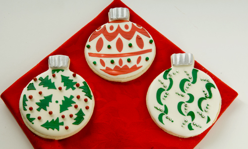 Cookie Recipes Ornament Stencil Cookies How To