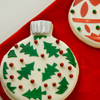 Ornament Stencil Cookies How-To