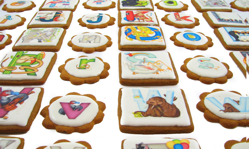 Alphabet Cookies How-To