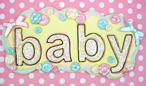 Helvetica Baby Cookies How-To