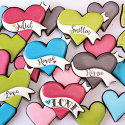 Banner Heart Cookie Cutter
