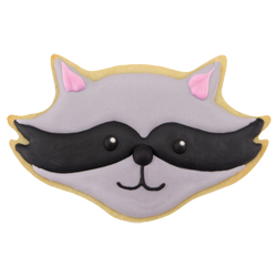 Raccoon Face Cookie Cutter