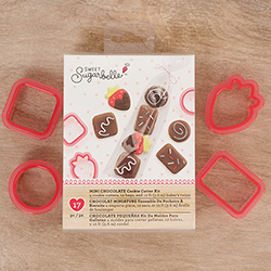 SALE!  Mini Chocolates Cookie Cutter Set