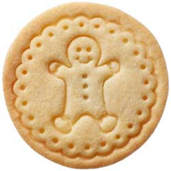 Gingerbread Man Cookie Stamp