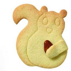 Cuddle Squirrel Cookie Cutter