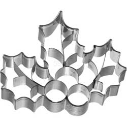 Holly & Berry Cookie Cutter