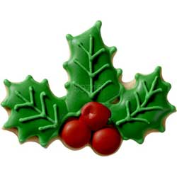 holly berry cookie cutter
