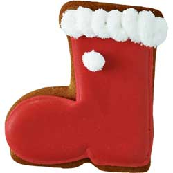 Santa's Boot Cookie Cutter