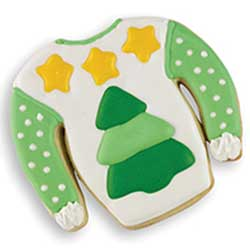 Tree Sweater Cookie Stamp and Cutter