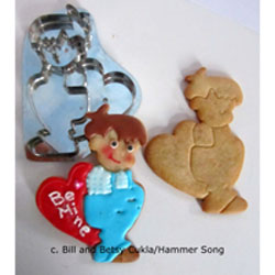 Boy With Valentine Cookie Cutter, Hammer Song