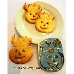 Cat with Pumpkin Cookie Cutter, Hammer Song