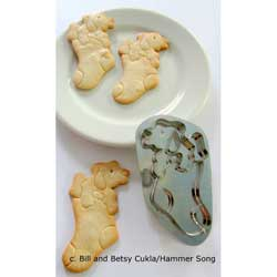 Christmas Puppy Cookie Cutter, Hammer Song