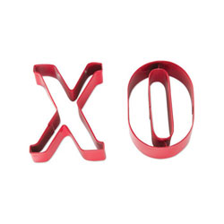 XO Cookie Cutter Set