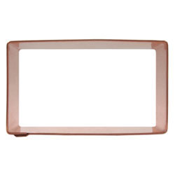 "Rectangle Cookie Cutter, 3"" x 4"""