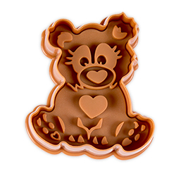 Baby Bear Cookie Stamp & Cutter