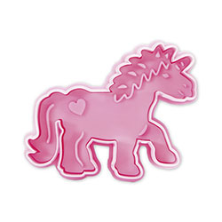 Unicorn Cookie Stamp & Cutter