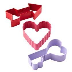 Cupid Cookie Cutter Set