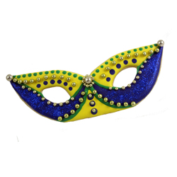 Mardi Gras Mask Cookie Cutter Set