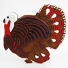 Giant Turkey Cookie Cutter, 7.5, Tin, LTD QTY