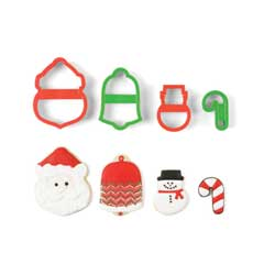 SALE!  Nesting Christmas Cookie Cutter Set