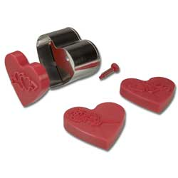 Sweet Heart Cookie Stamper & Cutter Set
