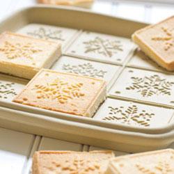 Snowflakes - Shortbread Pan
