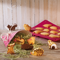 Little Woodland Animals Silicone Cake & Cookie Mold