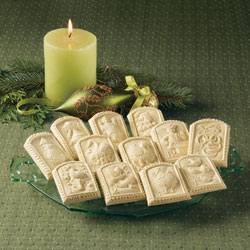 12 Days of Christmas Cookie Mold Set