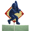 Baseball  Player Chocolate Lollipop Mold