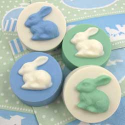 Chocolate Covered Oreos Easter Bunny Cookie Mold