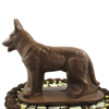 3D German Shepard Chocolate Mold, 2 Piece