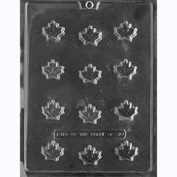 Maple Leaves Chocolate Mold