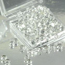 Clear 4mm Diamond Droplets Edible Sugar Cake Jewels