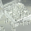 Clear 5mm Diamond Droplets Edible Sugar Cake Jewels