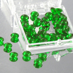 Green 4mm Diamond Droplets Edible Sugar Cake Jewels
