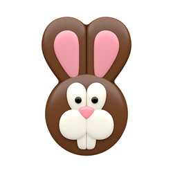 SALE!  Easter Bunny Face Chocolate Covered Oreos Mold