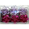 SALE!  Edible Sugar Tea Roses, Purple Mix