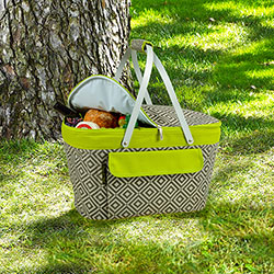 SALE!  Diamond Granite Collapsible Insulated Basket
