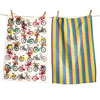 SALE!  Bike Rider Dishtowel Set