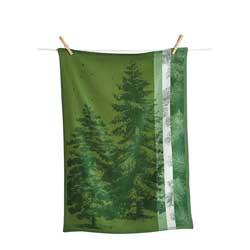 Evergreen Jacquard Towel