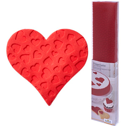 SALE!  Lovely Hearts Embossing Mat