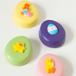 Deluxe Easter Charms Sugar Decorations