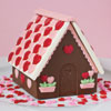 Small Cottage with Hearts Chocolate Mold
