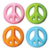 DP!  Peace Signs Sugar Decorations
