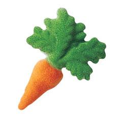 Carrots Sugar Decorations